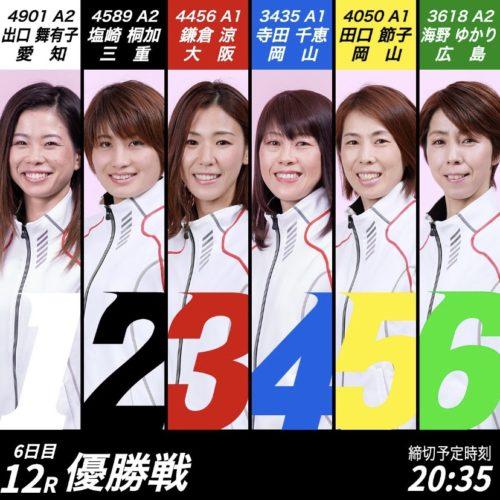 『G3モーターボートレディスカップ』本日優勝戦【出口舞有子】初優勝なるか!?