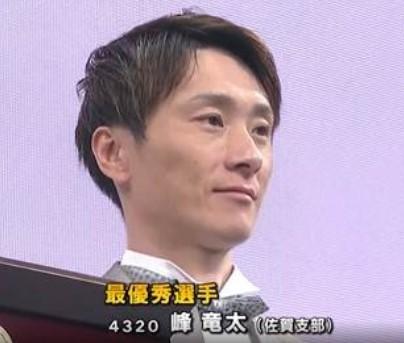最優秀選手 『峰竜太』の青春時代・優秀選手表彰5部門独占